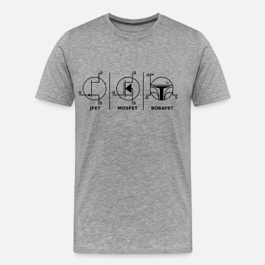 Electrical Engineering BOBAFET - Men's Premium T-Shirt
