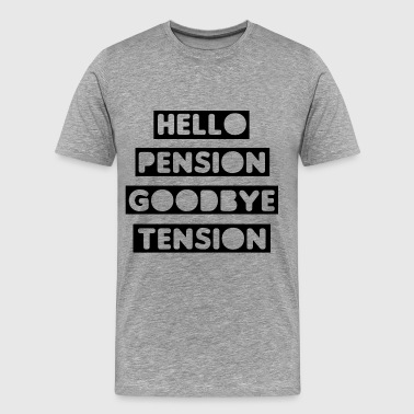 Pension Tension - Men's Premium T-Shirt