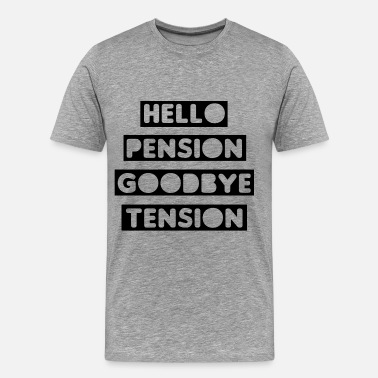 Tension Pension Tension - Men's Premium T-Shirt