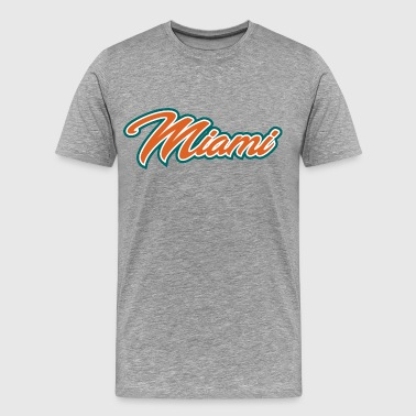 miami01 - Men's Premium T-Shirt