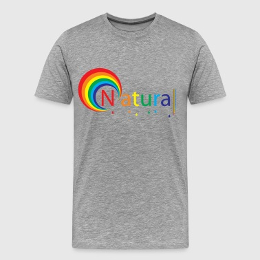 Bi Nature natural colour - Men's Premium T-Shirt