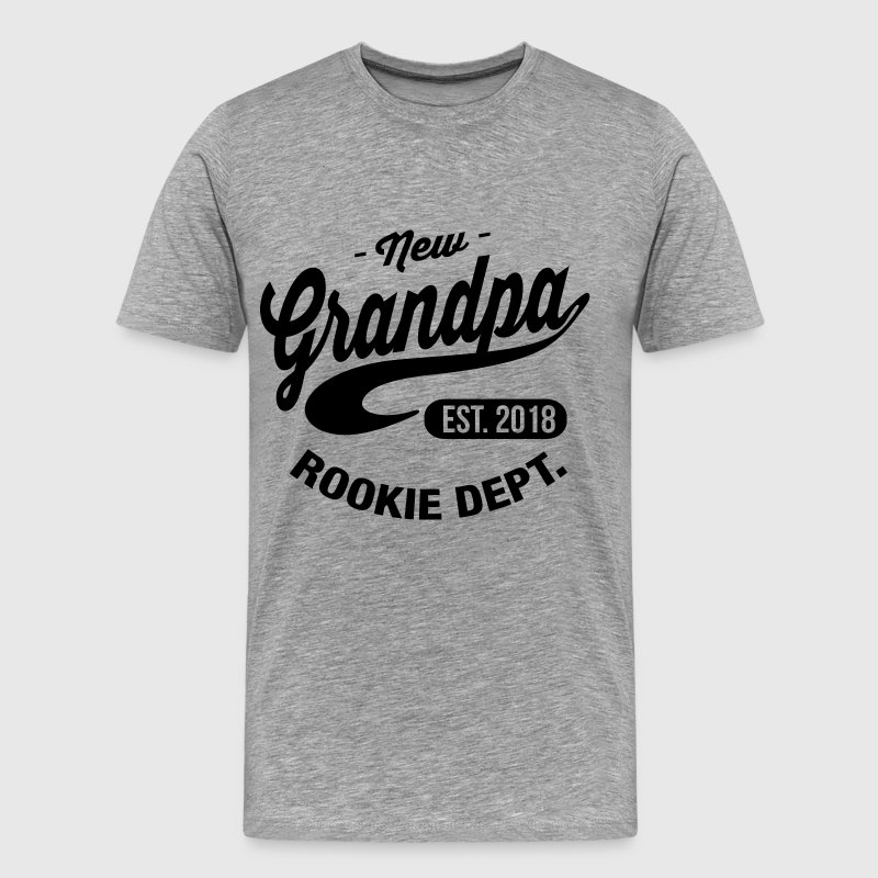 New Grandpa 2018 - Men's Premium T-Shirt