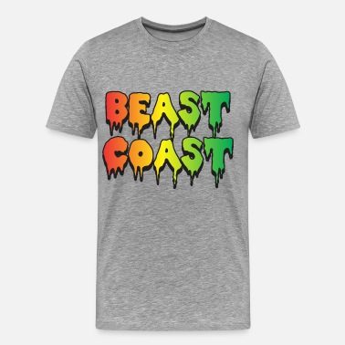 Flatbush Beast Coast - Men's Premium T-Shirt