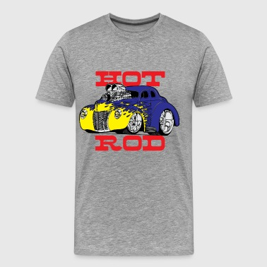 hot rod - Men's Premium T-Shirt