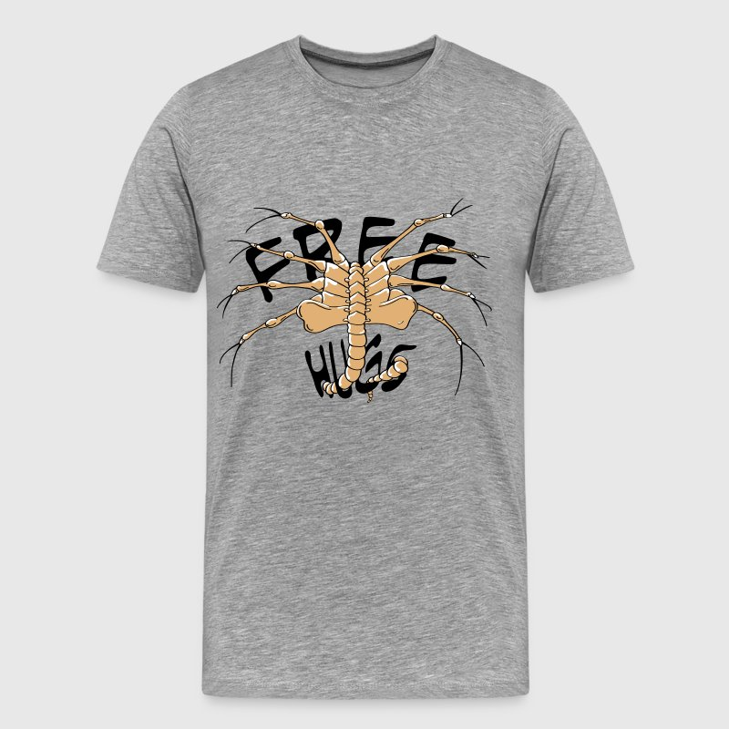 face hugger 2 colour - Men's Premium T-Shirt