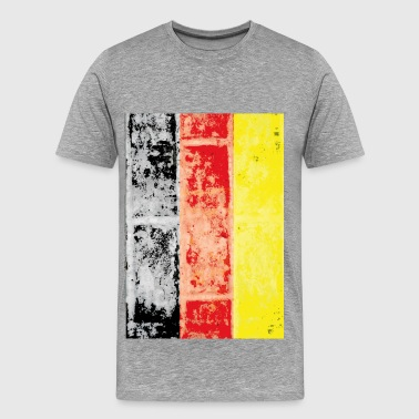 Flag Sportswear Germany vintage flag - Men's Premium T-Shirt