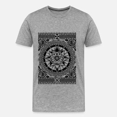 Intricate Intricate Ornament  - Men's Premium T-Shirt