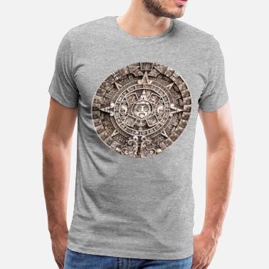 4a80cdeb8 Mayan Mayan calender - Men's Premium T-Shirt