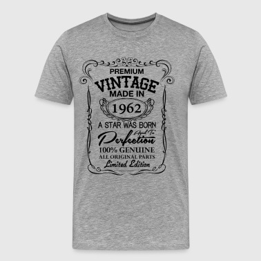 1962 Birthday Premium Vintage 1962 - Men's Premium T-Shirt
