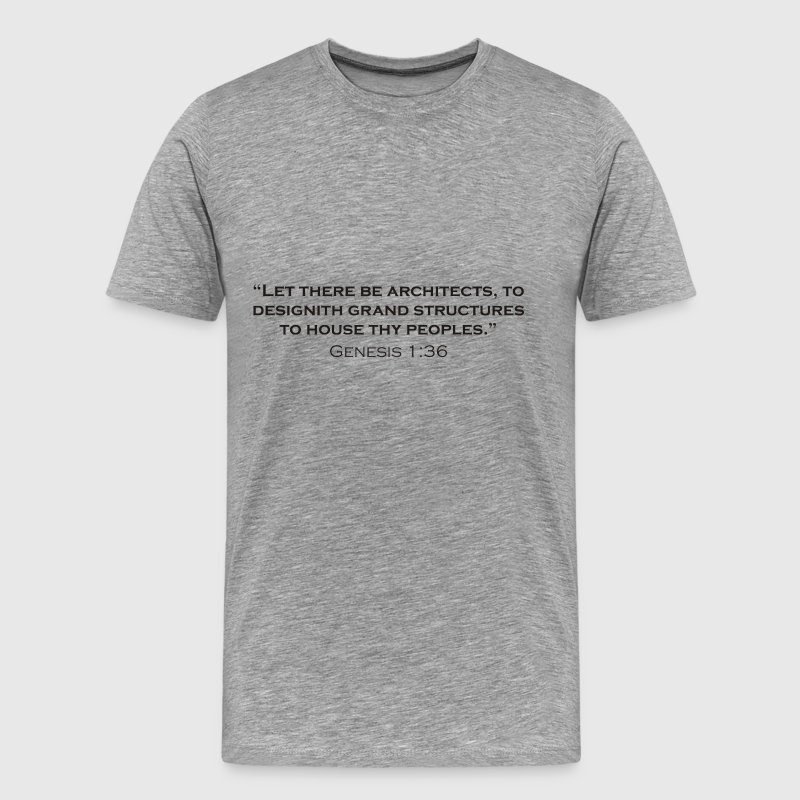 Let there be Architects - Men's Premium T-Shirt