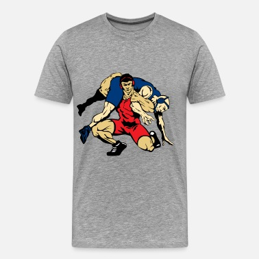Kid Wrestling wrestling - Men's Premium T-Shirt