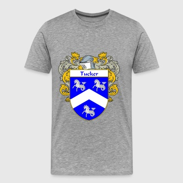 tucker_coat_of_arms_mantled - Men's Premium T-Shirt