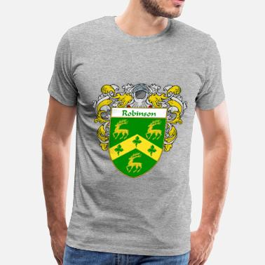 Robinson robinson_coat_of_arms_mantled - Men's Premium T-Shirt
