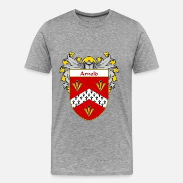 Abril Arnold Coat of Arms/Family Crest - Men's Premium T-Shirt