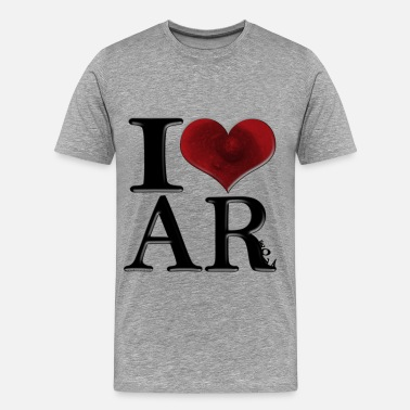Breast Spelling I Love AReola (for light-colored apparel) - Men's Premium T-Shirt