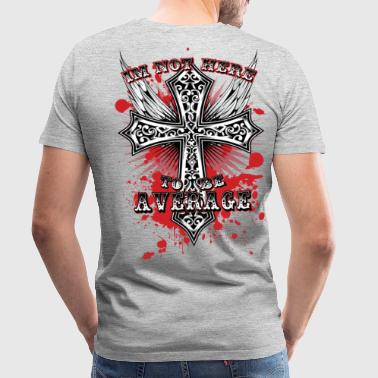 Average-Cross - Men's Premium T-Shirt