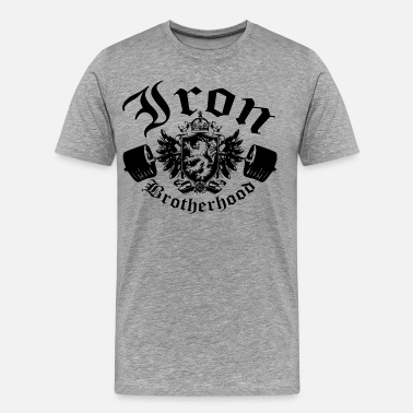Brotherhood Clothing Iron Brotherhood - Men's Premium T-Shirt