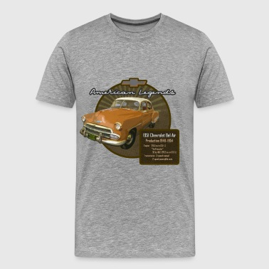 Vintage Auto Bel Air 1951 - Men's Premium T-Shirt
