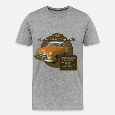1952 Vintage Auto Bel Air 1951 - Men's Premium T-Shirt