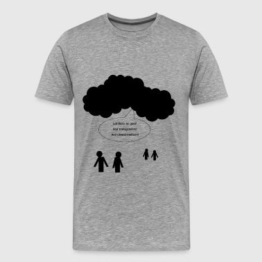 And Then God Said And God Said... - Men's Premium T-Shirt