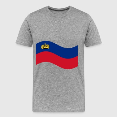 Liechtenstein Flag - Men's Premium T-Shirt