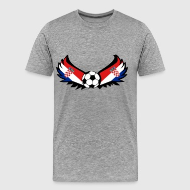 Soccer Croatia - Men's Premium T-Shirt