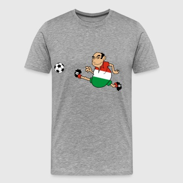 Hungarian footballer - Men's Premium T-Shirt