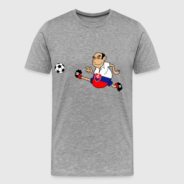 Slovakian football - Men's Premium T-Shirt