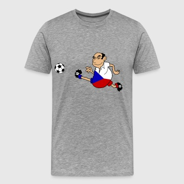 Czech footballer - Men's Premium T-Shirt