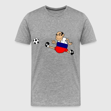 Russian footballers - Men's Premium T-Shirt