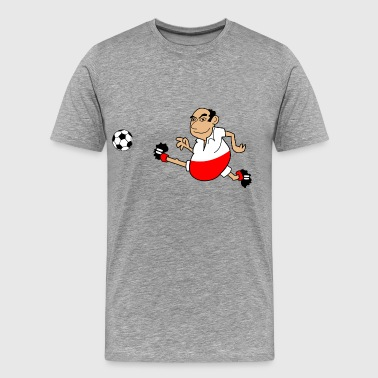 Polish footballers - Men's Premium T-Shirt
