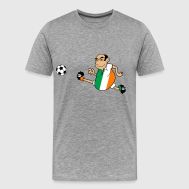 Irish footballer - Men's Premium T-Shirt