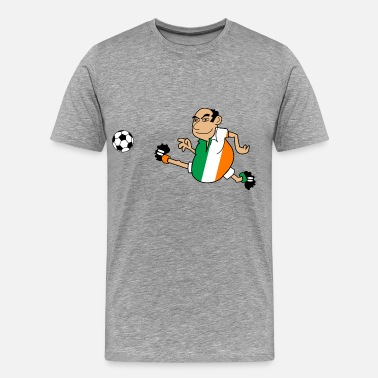 He Shoots He Scores Irish footballer - Men's Premium T-Shirt