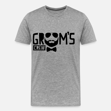 Bachelor Party Groom's Crew - Men's Premium T-Shirt