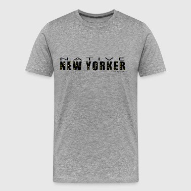 Native New Yorker - Men's Premium T-Shirt