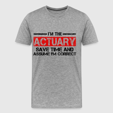 Actuary - Men's Premium T-Shirt
