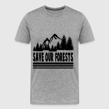 Save Our Forest forsts2.png - Men's Premium T-Shirt