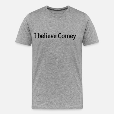Obstruction Of Justice I believe James Comey - Men's Premium T-Shirt