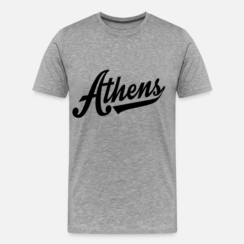 Alabama T-Shirts - Athens Alabama - Men's Premium T-Shirt heather gray