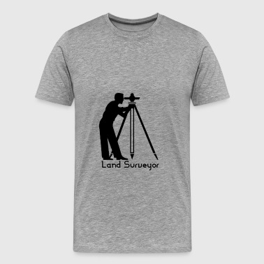 Land Surveyor Land Surveyor - Land Surveyor - Men's Premium T-Shirt