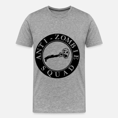 Shoot Em Up Anti-Zombie Squad - Men's Premium T-Shirt