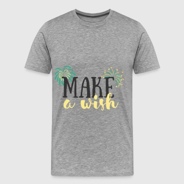 Birthday - Make a wish - Men's Premium T-Shirt