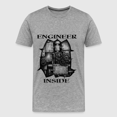 engineer inside - Men's Premium T-Shirt