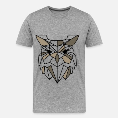 Owl Quotes Owl - Owl - Men's Premium T-Shirt