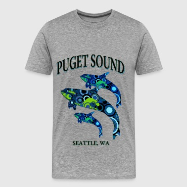 Puget Sound-Seattle - Men's Premium T-Shirt