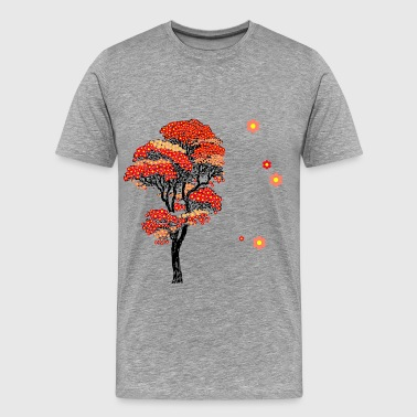 Tree Of Life Japanese Cherry Blossom T - Men's Premium T-Shirt