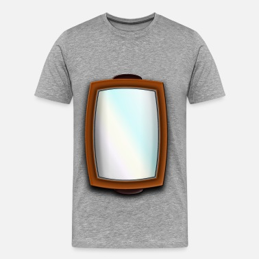 Mirror Reflection Mirror - Men's Premium T-Shirt