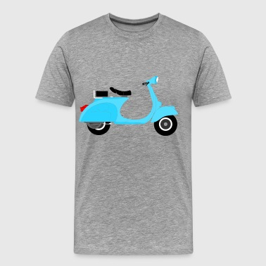 Vespa Blue Vespa - Men's Premium T-Shirt