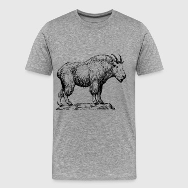 mountain goat - Men's Premium T-Shirt