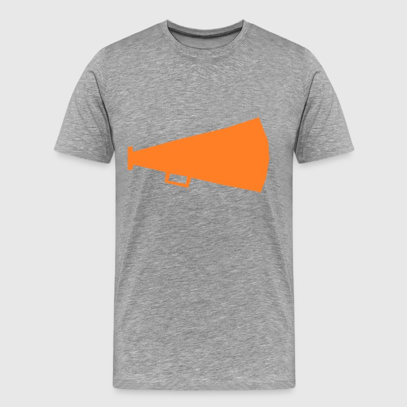 Bullhorn - Men's Premium T-Shirt